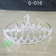 Wholesale new arrival fashion tiara for weddings