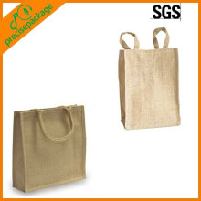 customized printed jute shopping tote bags