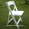 garden plastic folding chair for party and wedding