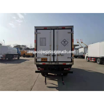 YUEJIN gasoline medical waste transport truck