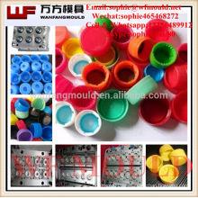 Fábrica de moldes de plástico para el hogar Fábrica de moldes de plástico PET Preforma Cap molde / Molde para inyección tapón de botella