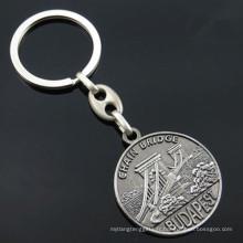 Porte-clés de souvenir de tourisme de tourisme de Budapest avec un porte-clés (F1156A)