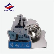 Las características regionales firman insignia de la solapa de la fábrica de China
