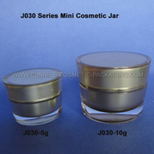 5g 10g Cone Shape Gold Mini Cosmetic Container
