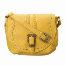 Lady's Fashionable Synthetic Leather Messenger Bags