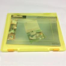 Caja de almacenamiento de archivos de plástico A4
