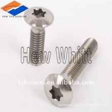 Titanium torx head bolt