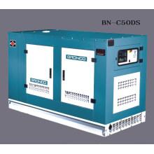 Générateur diesel silencieux refroidi à l'eau (BN-C50DS)