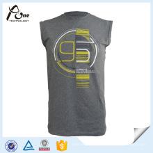 Gym Shark para homens Tops de basquete impresso Sportwear