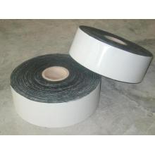 Cinta adhesiva de polietileno negro anti corrosión
