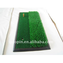 Two function driving mat golf training aids