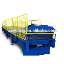 Passed CE and ISO YTSING-YD-0643 Full Automatic Roof Panel Roll Forming Machine