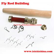 DIY Fly Fishing Rod componentes del edificio