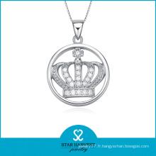 Vente en gros de pendentifs en argent de couronne en Chine (SH-N0103)