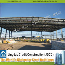 Light Steel Structure Portal Framed Structure Warehouse