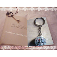 tag disco ball key ring door keys