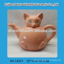 Wholesale ceramic tea pot with fox pattern