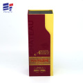 Hot stamping new design paper packaging wine box