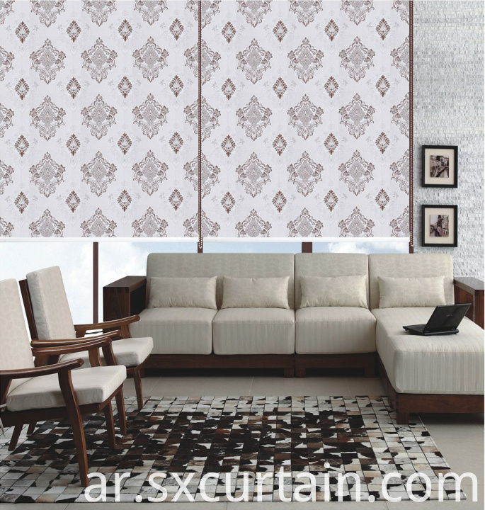 High Quality Roller Jacquard Shade