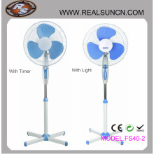 16inch Stand Fan with Either Timer or Light