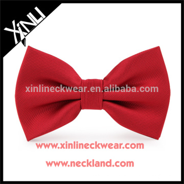 Perfect Knot 100% Handmade Silk Woven Mens Wholesale Bow Tie Red