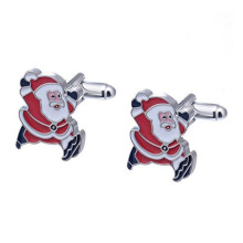 Fast Delivery for Silver Cufflinks Men's Christmas Cufflinks With Gift Box supply to Italy Exporter