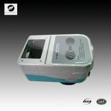 Compteur d'eau de prépaiement de carte d'IC pour domestique mesurant le volume de flux d'eau