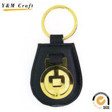 Corrente chave de couro do plutônio para presentes relativos à promoção