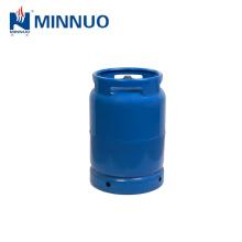 factory direct sale 10kg lpg gas cylinder, propane tank, blue bottle