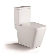 1208A Toilette deux pièces lavable avec siège de recouvrement ralentit PP