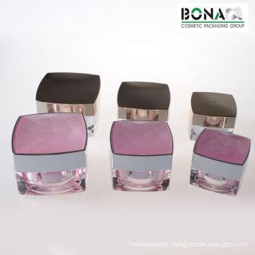 50g High Quality Plastic Jar Double Wall Jar