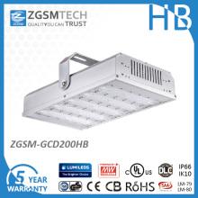Haute efficacité élevée Lumen 200W Dimmable LED haute baie avec haute tension 347V-480V