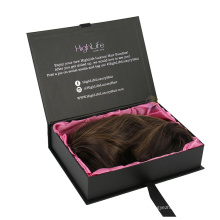 Premium Custom Book Shape Box for Hair Extension