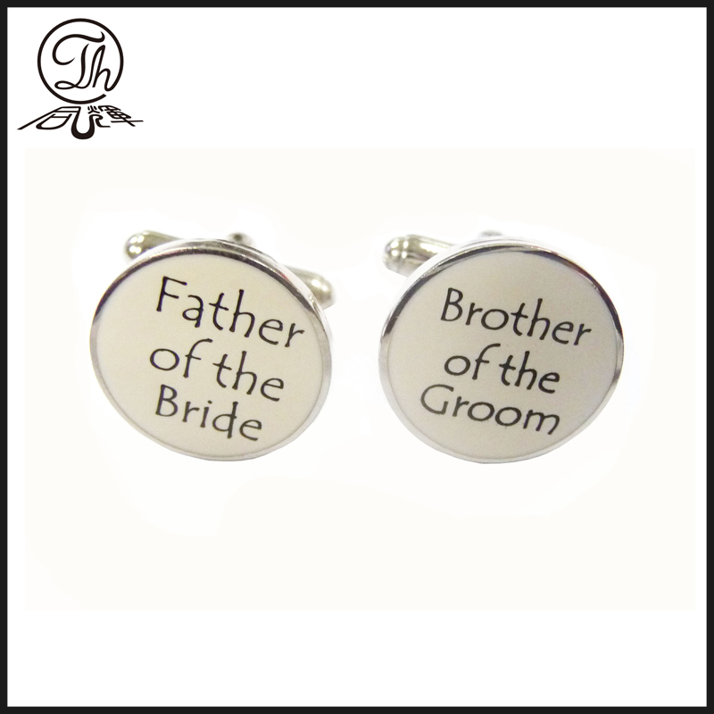custom wedding cufflink