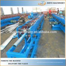 Verzinkte Metall-Stahl-Dachdecker verwendet Round-Down-Rohr-Gutter Roll Forming Machine