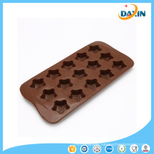 Food Grade Baking Tool Five-Pointed Star Shaped Silicone Chocolate Mold