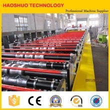 Vollautomatische Doppelschicht-Walzenformmaschine, Produktionslinie