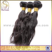 Perfeito extensões Yaki reto tecelagem italiana Remy virgem do cabelo