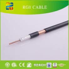 50 Ом Коаксиальный кабель Rg8 Соответствие RoHS требованиям CE)