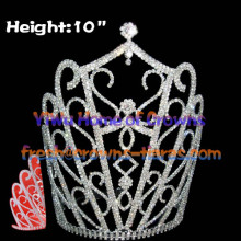 10inch Hot Selling National Pageant Crowns
