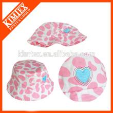 Sombrero de encargo al por mayor del cubo del poliester del bebé