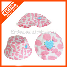 Wholesale custom blank baby polyester bucket hat