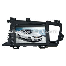 Fabrik direkt! Quad-Core-Auto-DVD-Player Android für Auto, GPS / GLONASS, OBD, SWC, WiFi / 3g / 4g, BT, Spiegel Link, Analog-TV für K5 / Optima