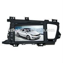 Usine directement! Quad core voiture dvd lecteur android pour voiture, GPS / GLONASS, OBD, SWC, wifi / 3g / 4g, BT, lien miroir, TV analogique pour K5 / Optima