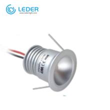 LEDER 15mm 25mm Mini 1W Lampe d'armoire LED