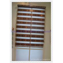 Persianas de ventana de cepillos de cebra (SGD-R-3073)