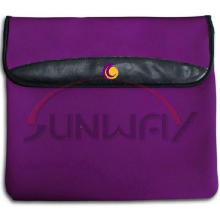 Hot Sale Neoprene Computer Laptop Bag with Flap (PC004)