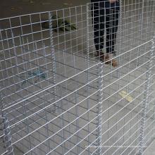 Cesta de gaviones soldada con revestimiento de cinc pesado