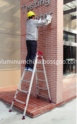 double side ladder use SCP