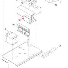 Poder Panasonic SMT para a impressora de tela RS60a-12 da Sp60p-M (KXFP6E8AA00)